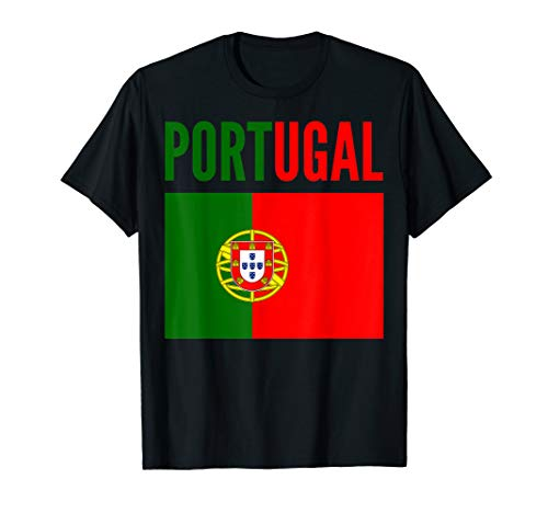 Portuguese Gift - Portugal Country Flag T-Shirt
