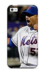 Tpu Fashionable Design New York Mets Rugged Case Cover For Iphone 5c New