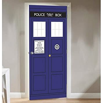 Doctor Who Tardis Door Cling Amazon Electronics