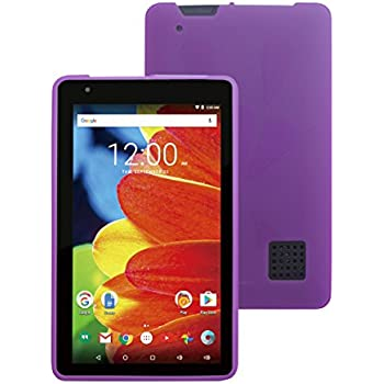 """Amazon com: RCA Voyager III 7"""" (RCT6973W43) -TPU Cover Case"""