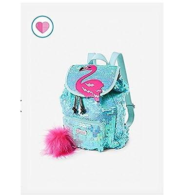 5526a8c667ea Justice Flamingo Flip Sequin Mini Rucksack Backpack 70%OFF - e ...
