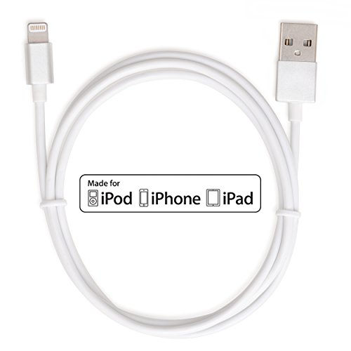 CreatePros Apple Certified Lightning to USB Cable with Al...