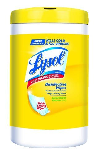 4in 1 Disinfecting Wipes - REC77182 - LYSOL 4 in 1 Disinfecting Wipes - Citrus 80 ct.