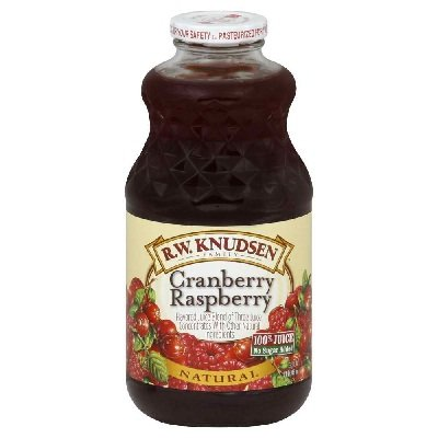 R.W. Knudsen Family Cranberry Raspberry, 32-Ounce (Pack of 12)