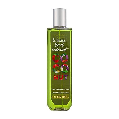 Bath & Body Works Waikiki Beach Coconut Fine Fragrance Mist, 8 Fl Oz - Signature Collection