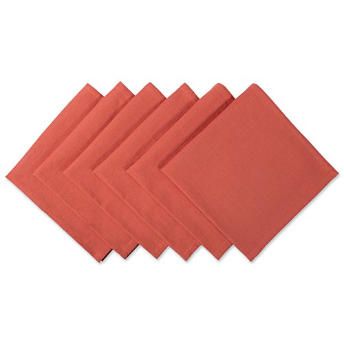 DII 100% Cotton Cloth Thanksgiving Napkins, Oversized 20x20