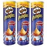 PRINGLES potato chips - Ketchup - 3 cans /3 x 190g