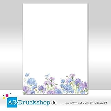 10 Kuverts Tulpen rot grün Frühling Set Motivpapier Briefpapier 20 Blatt A4