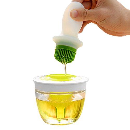 Silicone Basting Brush Oil Dispenser - 11 Oz / 320 ml – by Utopia Kitchen