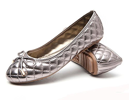 MEILI Solo antideslizantes femenino zapatos arco femenina de 2 marea planos trabajo tamaño gran de cómodo zapatos qqSHxnUdrw