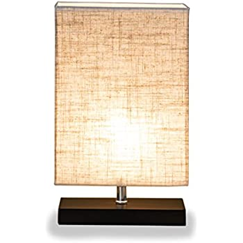ZEEFO Wood Table Lamp  Retro Solid Wood and Fabric Shade Relax Lighting For  Bedroom Bedside Desk Lamp  Contemporary Living Room  Study   Cafe   Baby  Room  Elegant Designs LT1025 BLK Modern Genuine Leather Table Lamp  . Contemporary Table Lamps For Living Room. Home Design Ideas