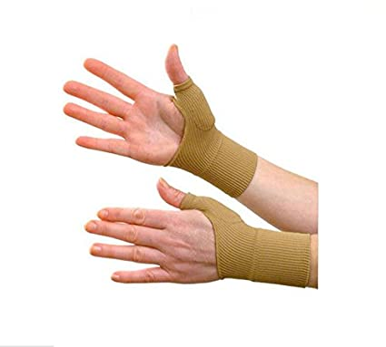Yosoo Therapy Gloves Gel Filled Thumb Hand Wrist Support Arthritis  Compression