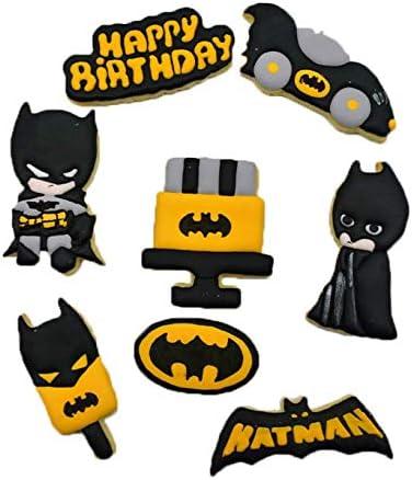 Astra Gourmet Lot De 8 Super Hero Batman Superman Theme Dessin