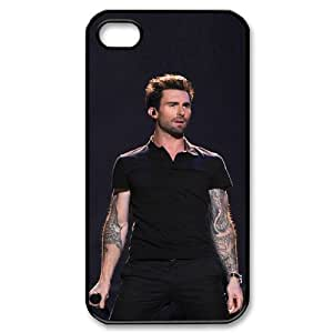 I-Cu-Le Customized Print Adam Levine Pattern Back Case for iPhone 4/4S