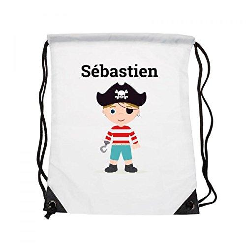 Tasche Kinder Vorname: Kapitän Pirat