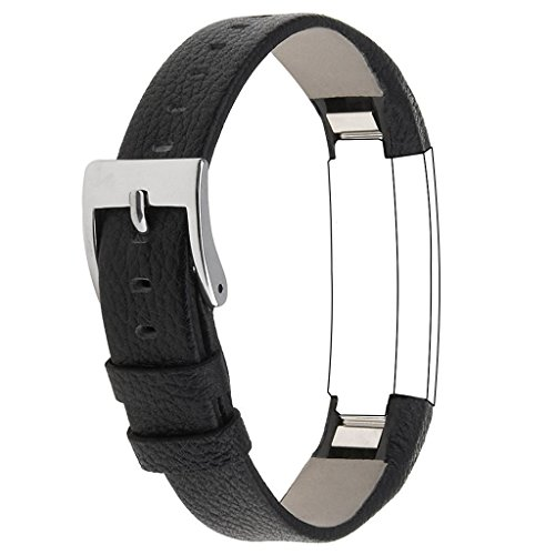 For Fitbit Alta HR and Alta, Snowcinda Accessories Leather Bands for Fitbit Alta HR and Alta, Watch Band Style