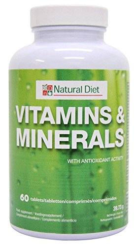 NATURAL DIET - Vitaminas Y Minerales - Tamaño - 60 Comps.
