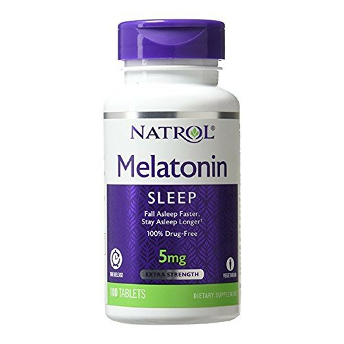 Natrol Melatonin Release Tablets Packs
