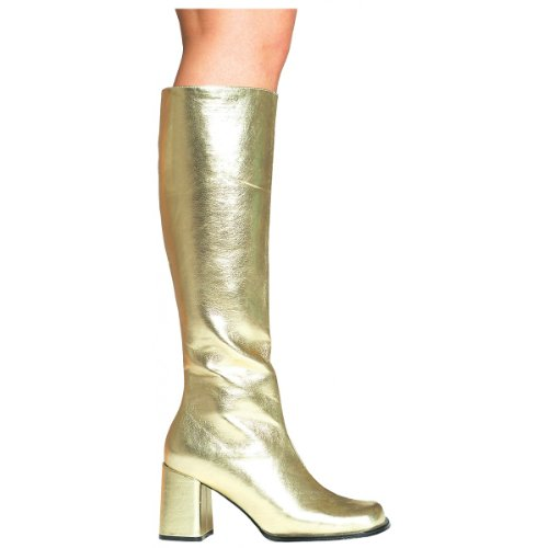 Ellie Shoes - Gogo (Gold) Adult Boots - 9 - -