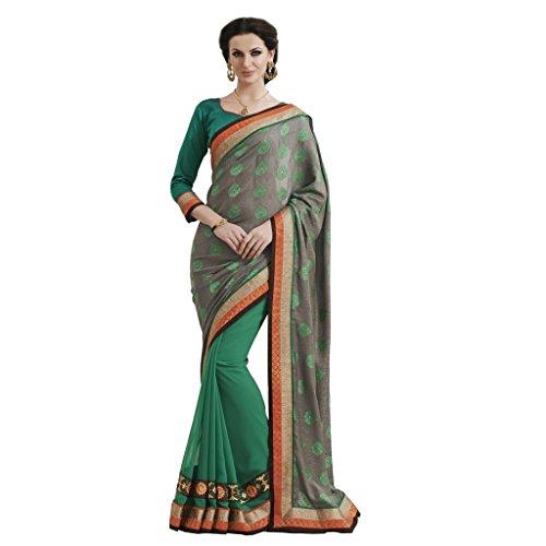 Sarees Style Wear Jay Party Saree Bollywood Bahubali TwaqBP