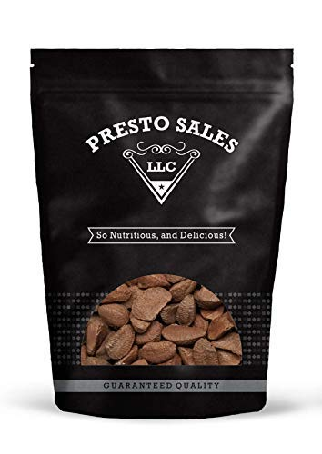 Brazil Nuts,''Top Quality'' In shell Polished Large (1 lb.) by Presto Sales by Presto Sales
