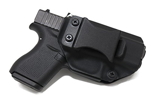 Fierce Defender IWB (Inside Waistband) Kydex Holster Glock 43 'Winter Patriot Series' (Black)