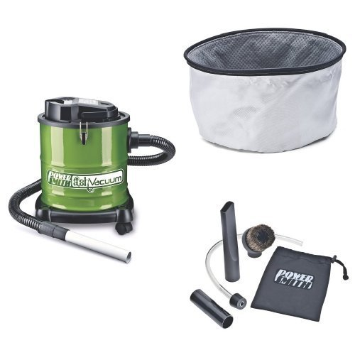 PowerSmith PAVC101 10 Amp Ash Vacuum with Filter and Cleaning Kit