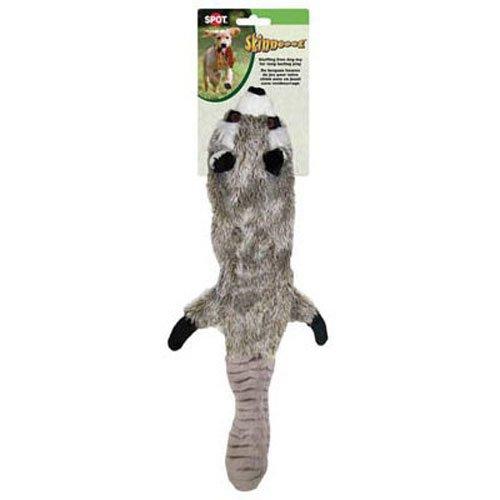 Ethical Pet Plush Skinneeez 24-Inch Dog Toy, Raccoon