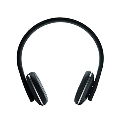 Bluetooth Headphones Old Shark® Over Ear Wireless Headsets Stretch Earphones Breathable Leather Earpad with Mic