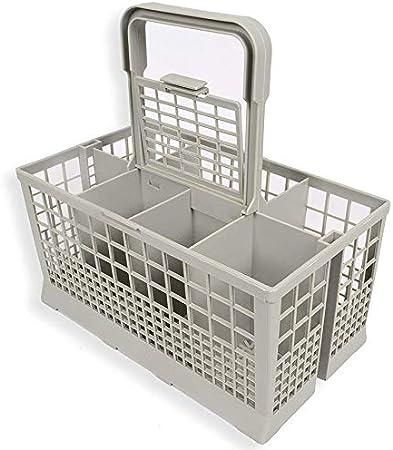 1 unids Universal lavavajillas Cubiertos Cesta de Almacenamiento Caja de Ayuda de Cocina Pieza de Repuesto: Amazon.es