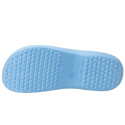 Blue Garden Shoes Smell Comfy Clogs Nursing Cooga No Ultralite Women's Breathable Light wqOPUn7B6x