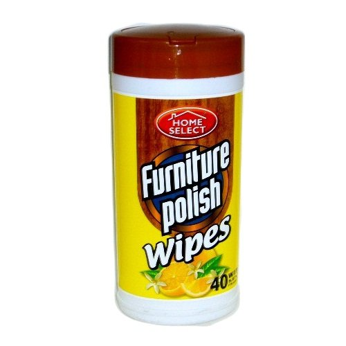 Wholesale H.S Canister Wipes 35ct Furniture Polish