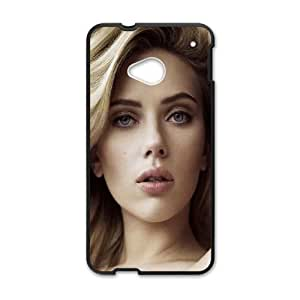 Celebrities Gorgeous Scarlett Johansson HTC One M7 Cell Phone Case Black DIY TOY xxy002_891657