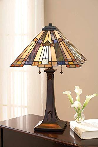 Quoizel 2-Light Table Lamp Small (Inglenook)