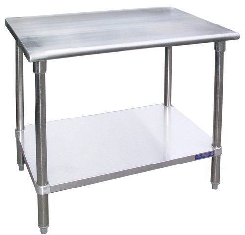 Stainless Steel Work Table Food Prep Worktable Restaurant Supply 14'' x 24'' NSF Approved by LJ