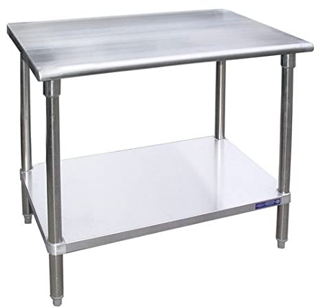 Stainless Steel Work Table Food Prep Worktable Restaurant Supply 30