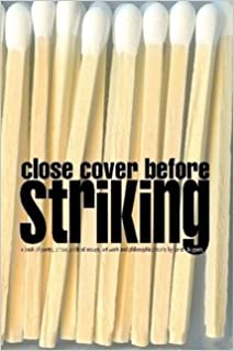 Book Close Cover Before Striking