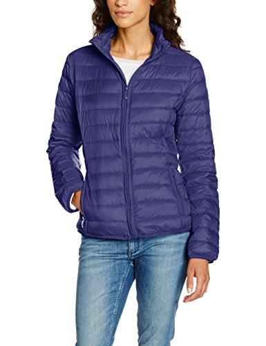 Jeans Women's Packable Light Weight Puffer Jacket, Navy, 44