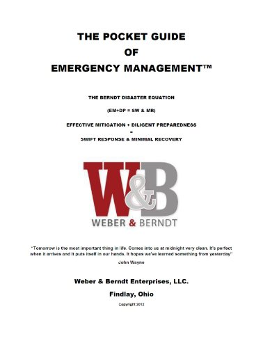 The pocket guide of emergency management kindle edition by scott.