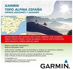Garmin Topo Alpina España - Mapas para GPS, Cobertura geográfica, Pirineo Aragonés y Navarro: Amazon.es: Deportes y aire libre