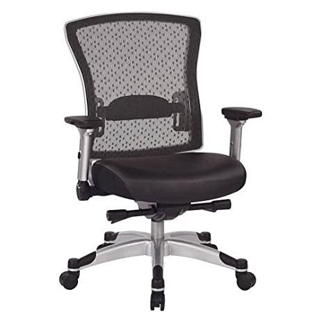 amazon com office star executive mesh back office chair with flip