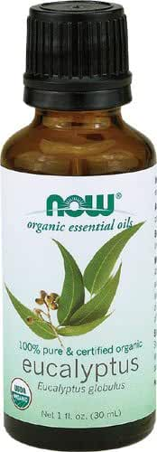 NOW  Organic Eucalyptus Oil, 1 ounce