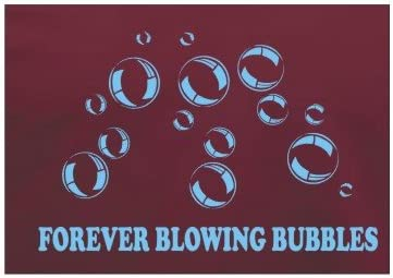 Forever Blasen West Ham F.C Alle Gr/ö/ßen Fu/ßballverein T-Shirt