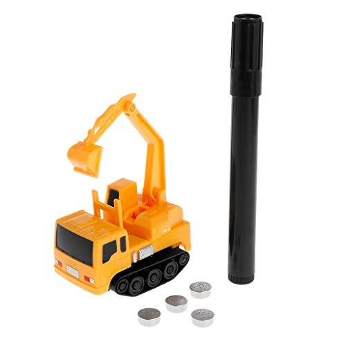 Kofun Sensing Car Toy, Mini Inductive Excavator Magic Toy Truck Car Mini Pen Inductive Electric Toy Ideal Christmas Birthday Sensing Car Toy Gift for Kids]()