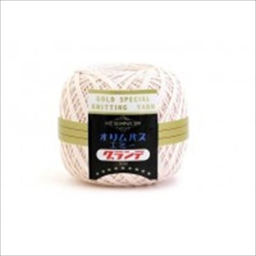 Emmy Grande race thread 50 g ballads 3 balls 111 by Olempus made cord