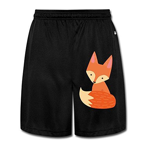 Fox Cartoon Men's Short Pants Yoga Sweatpants Performance Shorts Workout Sweatpants Gym Sweatpants XXL (Fox News The Five Halloween Costumes)