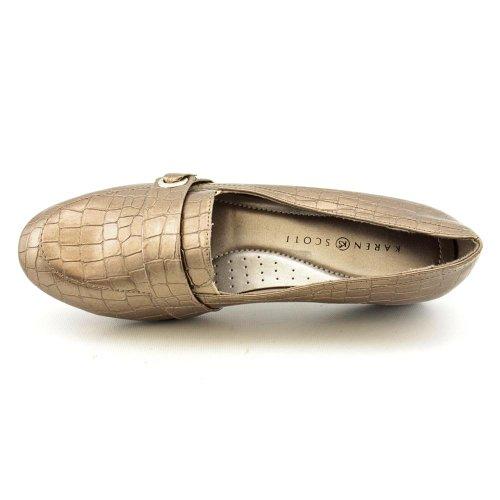 Karen Scott Femmes Chaussures Mocassins Taille 6 M Baileyptr Bailey Étain Synthétique