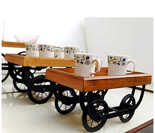 Wooden Serving Tray/Kart/Platters redaa Desi Look Price & Reviews