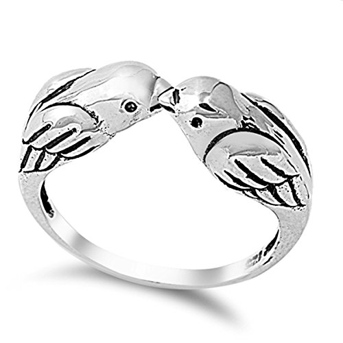 Sterling Silver Womens Love Sizes product image