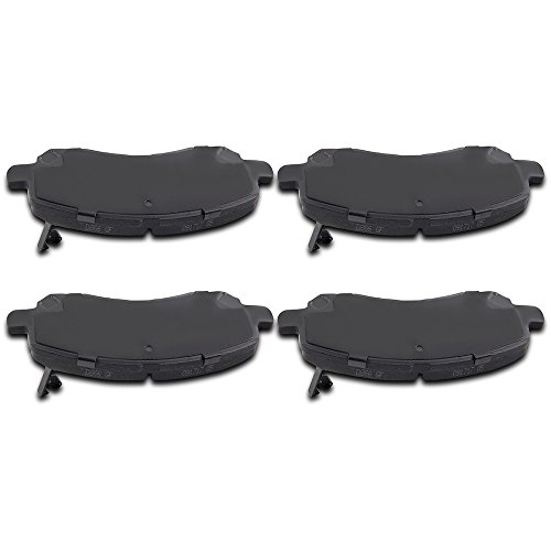 SCITOO Ceramic Pads 4pcs Front Brake Pads Brakes Kits Replacement fit for Chrysler 200/Sebring,Dodge Avenger/Caliber/Stratus,Jeep Compass/Patriot,Mitsubishi Eclipse ()